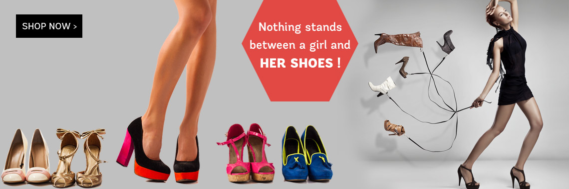 Nothing Stands between a girl and her shoes