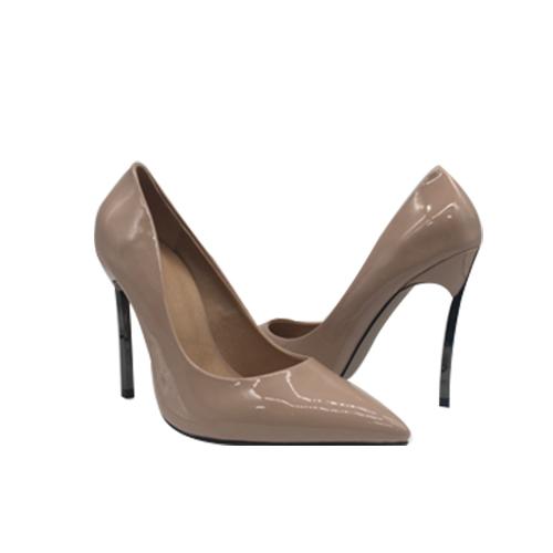 Pump shoe with Pencil heel