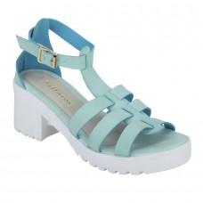 Blue/Teal Strappy Gladiator Sandals